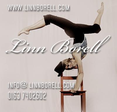 Linn Borell Artistin und Showkünstlerin