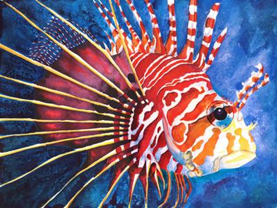 Aquarelle und Acrylbilder von Nina Vahrenkampf