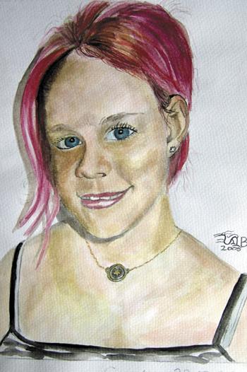 Künstlerin Steffi Busch