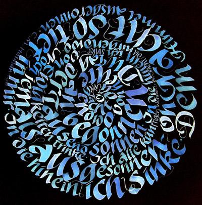 Kalligraphien Matthias Gröschke