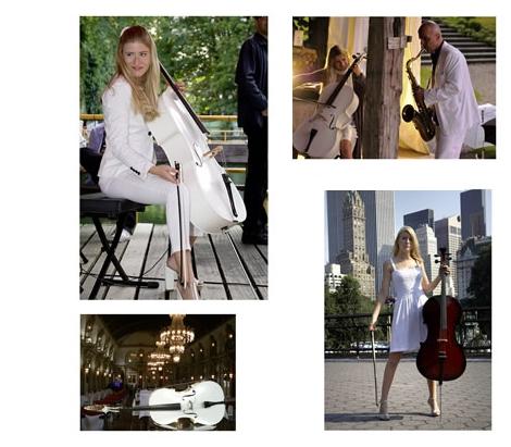 Liz Schneider White Cello