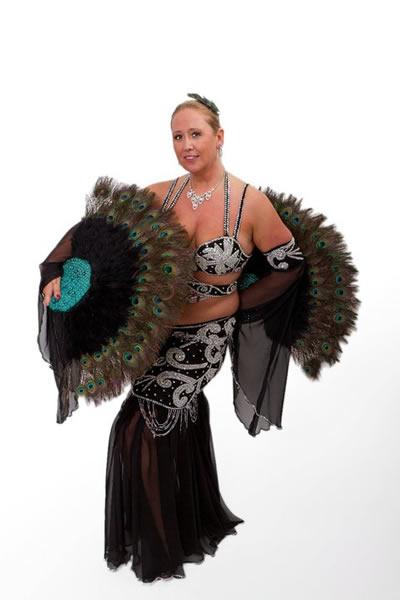 Orientalische Tänzerin Shaybara