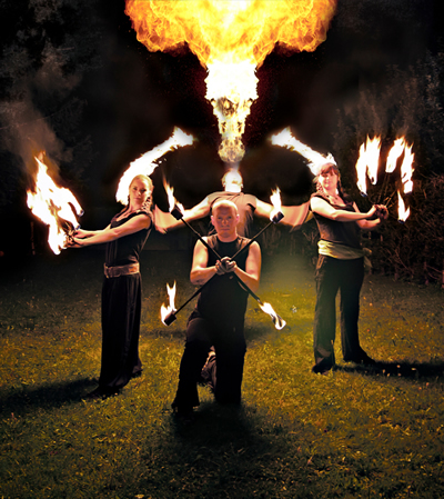 Human Fire - Feuershows und Feuerspektakel