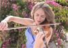 Violinistin Ksenia Dubrovskaya