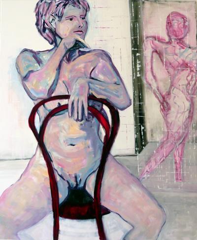 Expressive figürliche - zeitgenössische Malerei - Tanja Wasser