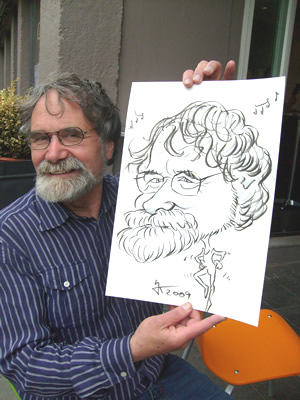 Schnellzeichner und  Karikaturist  Kolkmeyer Karikaturen